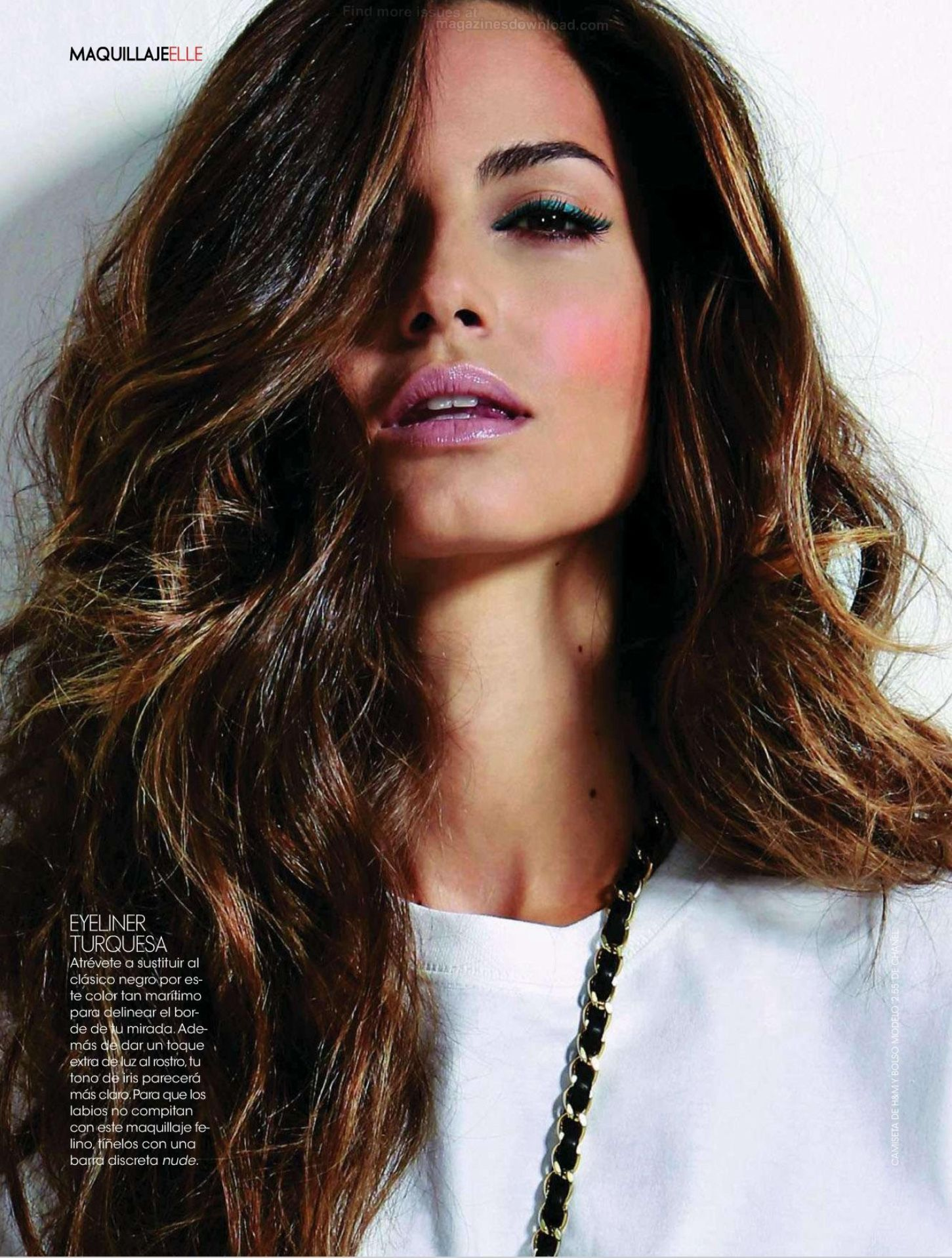 ariadne artiles in elle spain october 2012 fab fashion fix