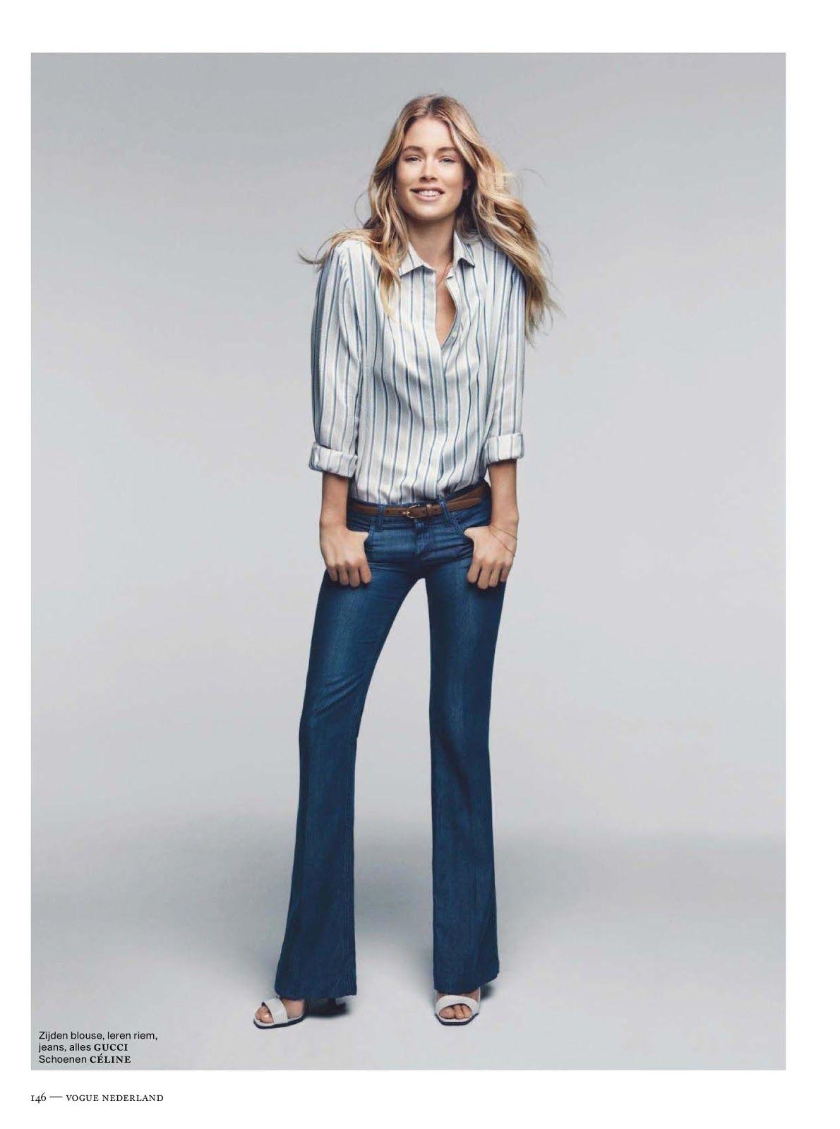 Interview: Doutzen Kroes for Vogue Netherlands December ...