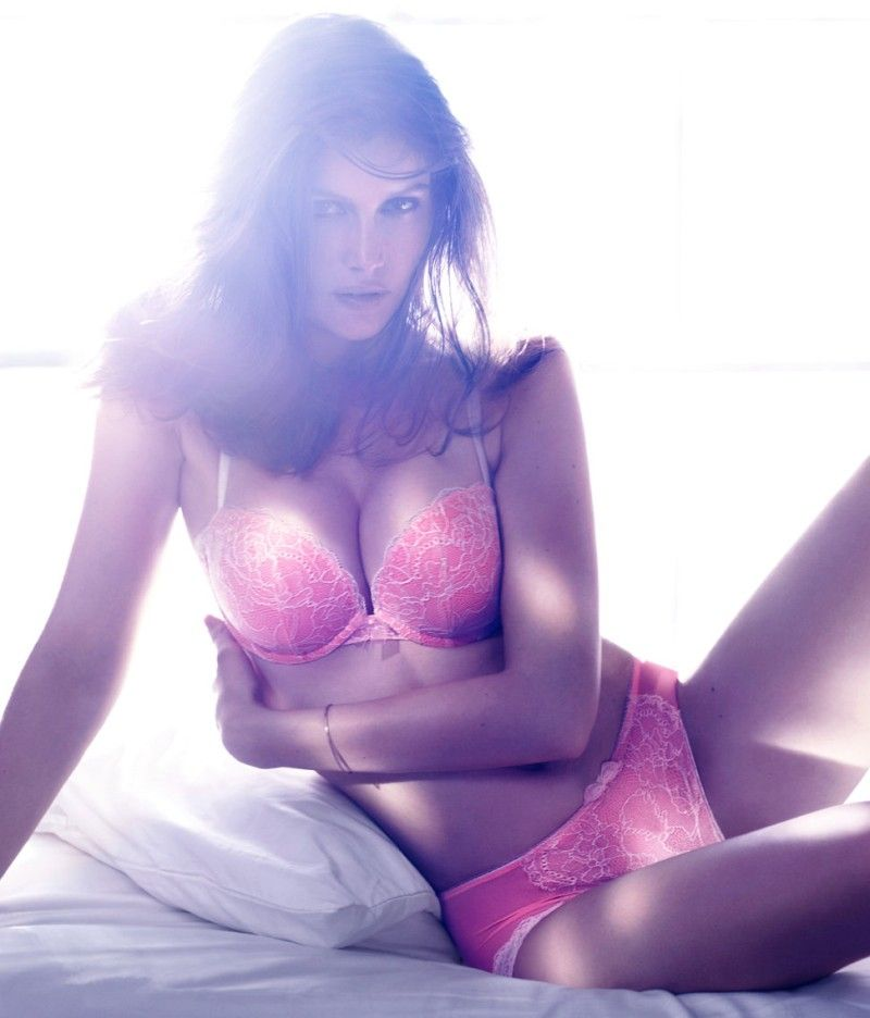 Laetitia Casta for H&M FW 2012 Lingerie-000