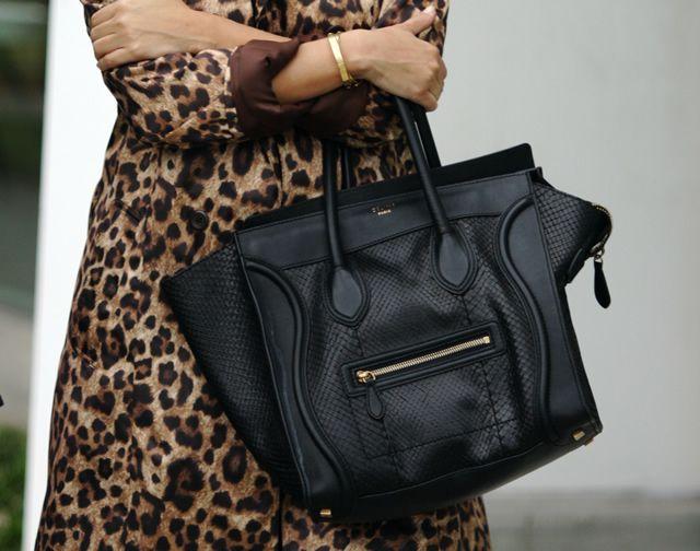 Python-Celine-Luggage-Tote