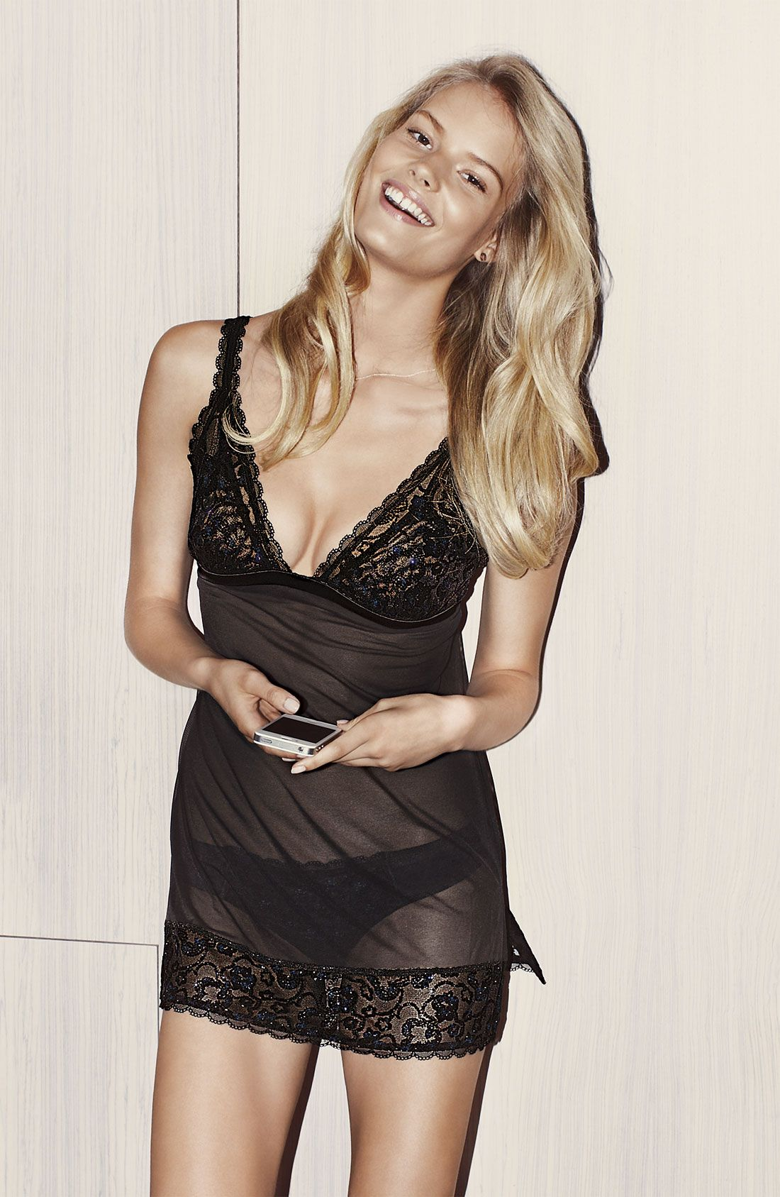 ... (Marilyn NY) features in Nordstrom December 2012 lingerie catalog