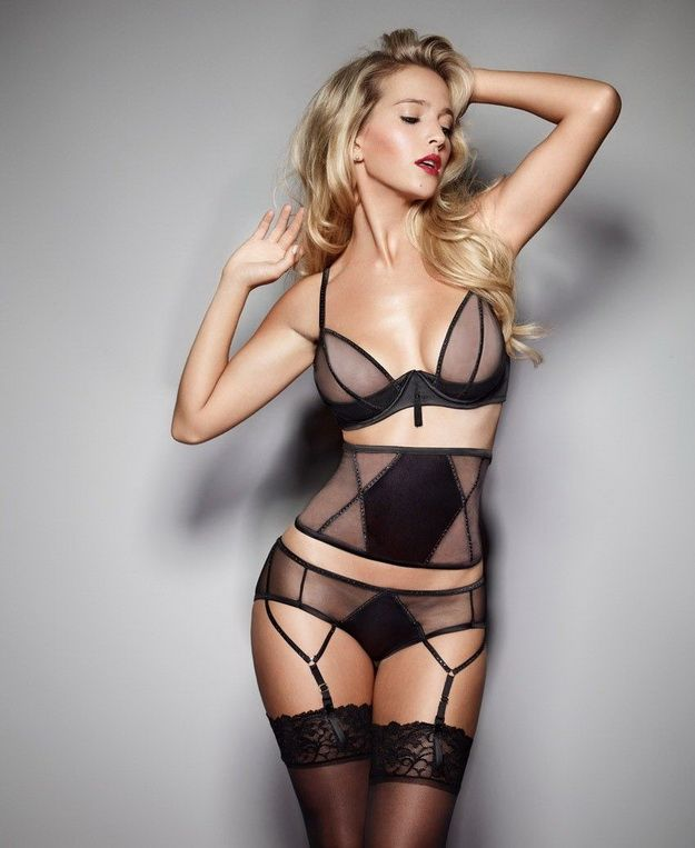 Luisana Lopilato For Ultimo's Black Label Collection FW