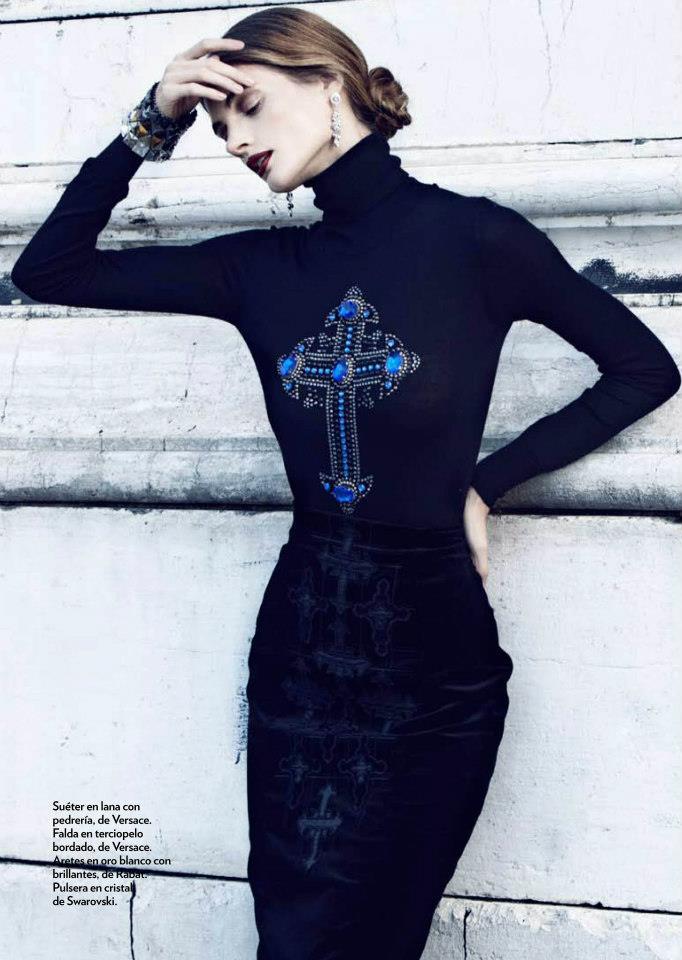Natalia Belova For Marie Claire Spain Fab Fashion Fix