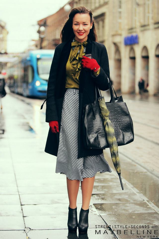 Style Watch Zagreb Streetstyle November 2012 Part 1 Fab Fashion Fix