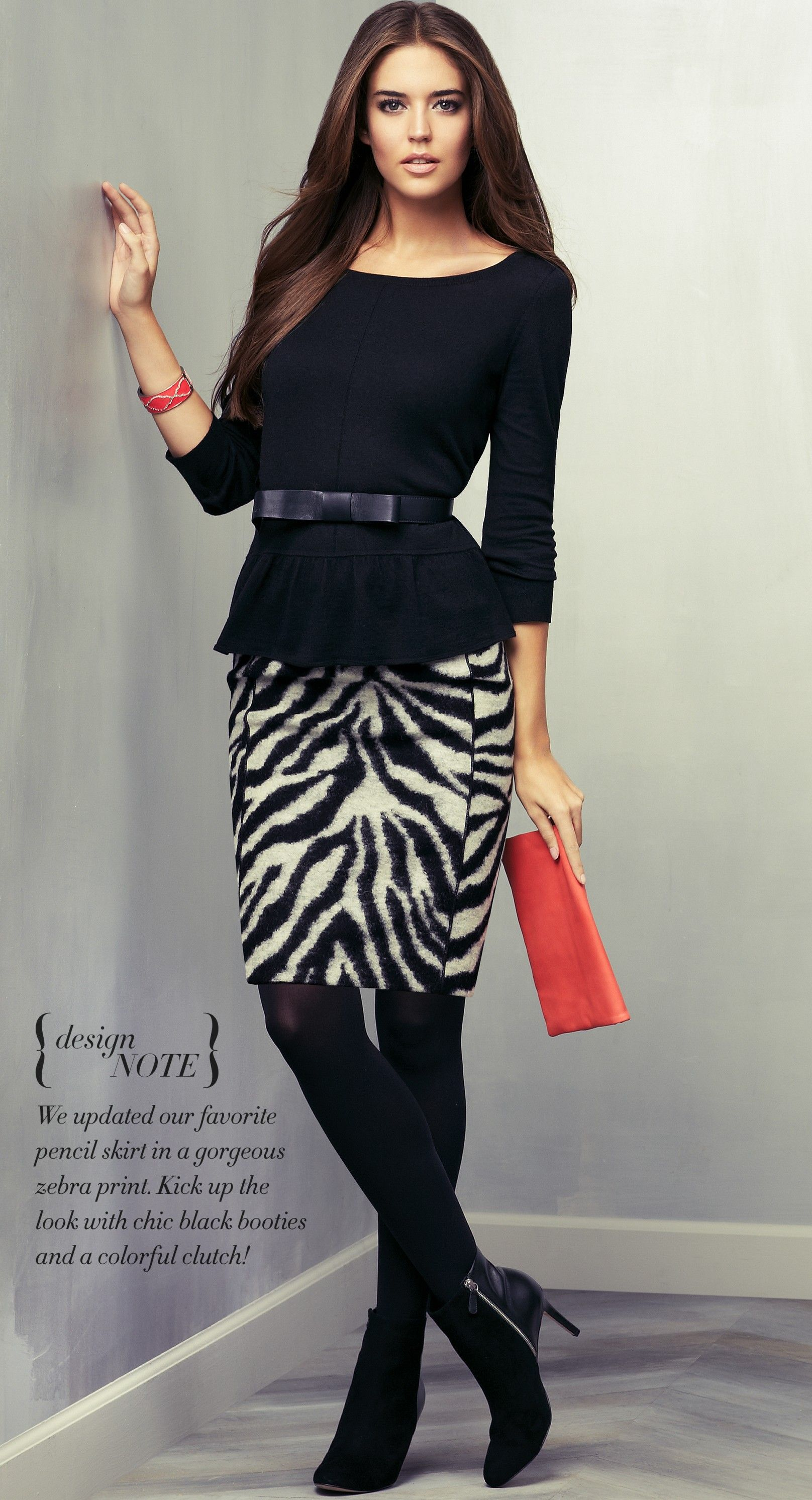 clara alonso for ann taylor november 2012 lookbook fab