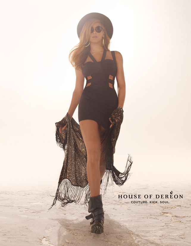 Beyonce for House Of Dereon FW 2013-002