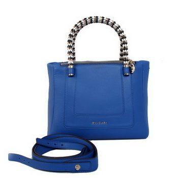 Bulgari-New-Small-Hand-Carry-Serpenti-Bag-Blue