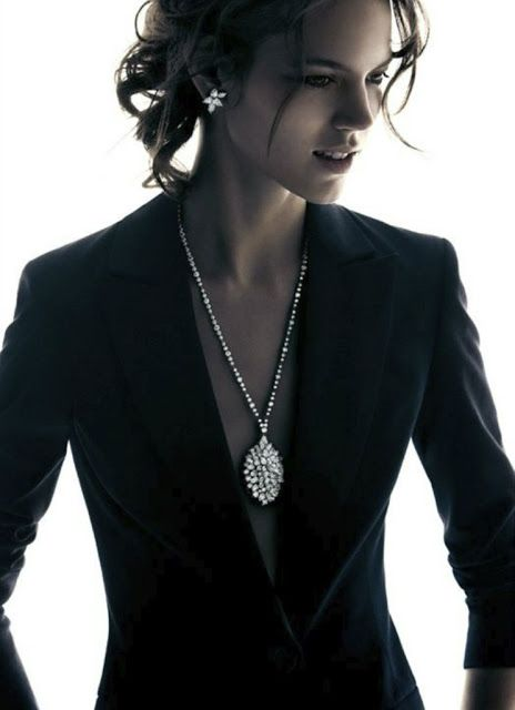 Freja Beha Erichsen for Harry Winston Holiday 2012 by Patrick Demarchelier