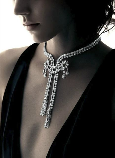 Freja Beha Erichsen for Harry Winston Holiday 2012 by Patrick Demarchelier1