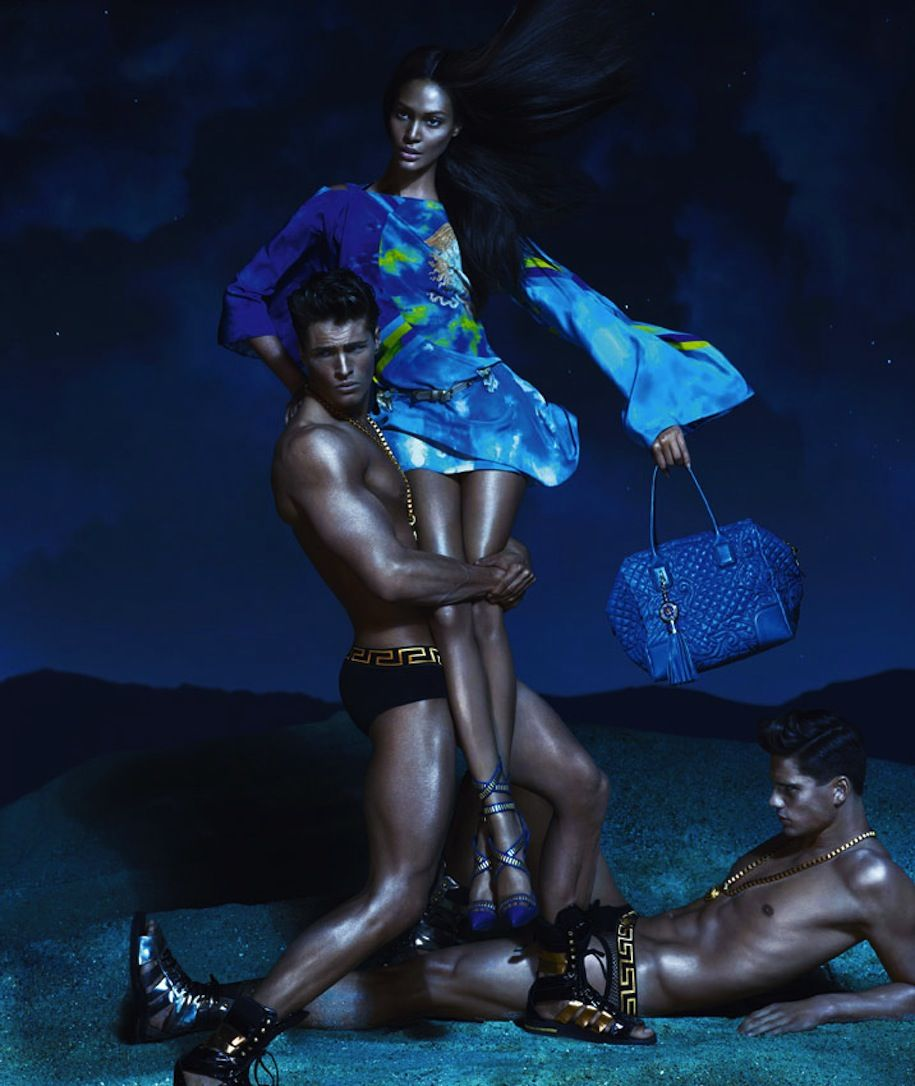 Joan Smalls for Versace 2012-2013_04