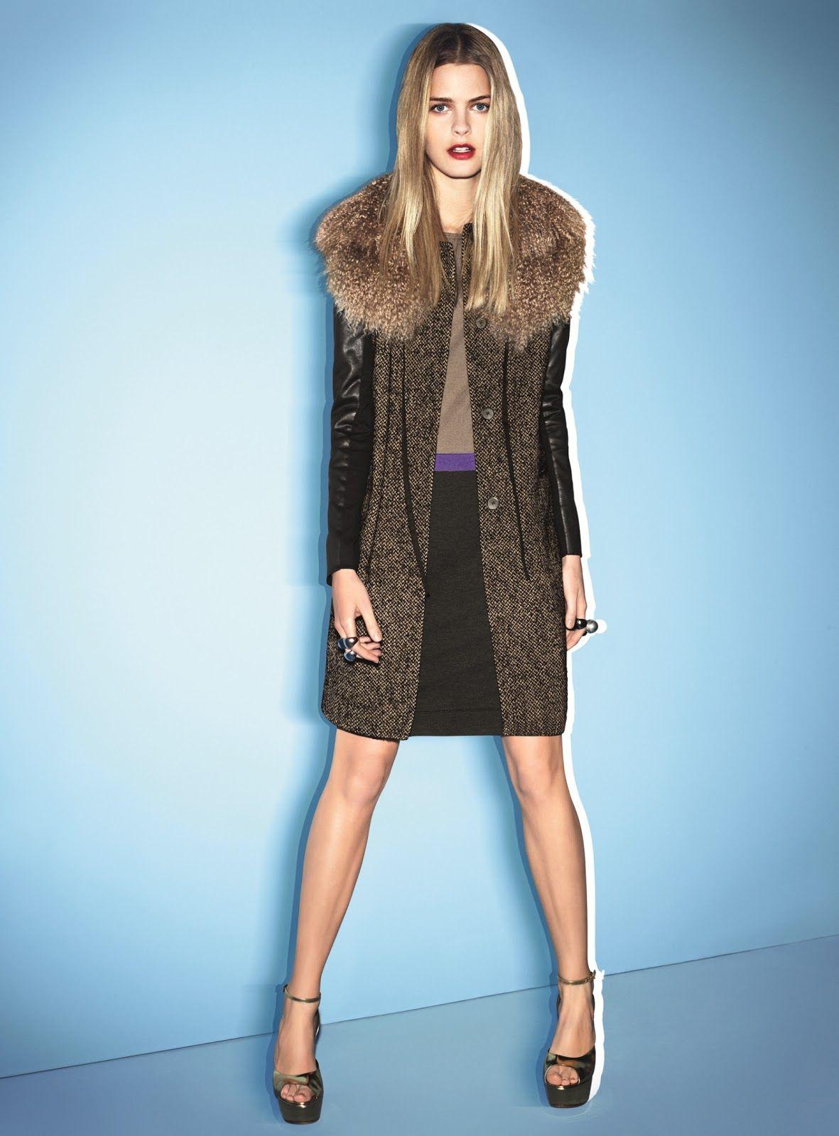 Michaela Hlavackova For Luisa Cerano F W 2012 Campaign