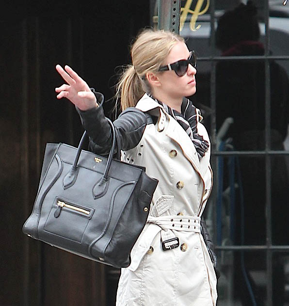 Nicky-Hilton-with-Black-Leather-Celine-Mini-Luggage-Tote