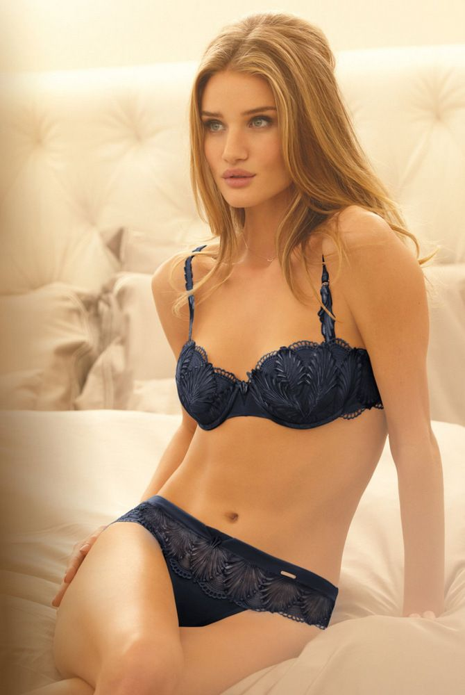Rosie Huntington-Whiteley - M&S (Marc & Spencer) lingerie collection 'Rosie for Autograph' 2012