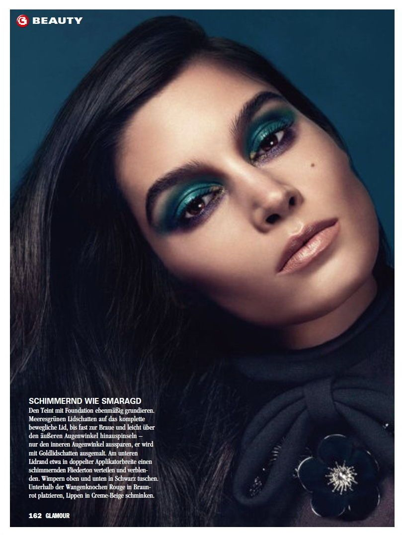 Marija Vujovic In Glamour Germany December 2012 Fab Fashion Fix