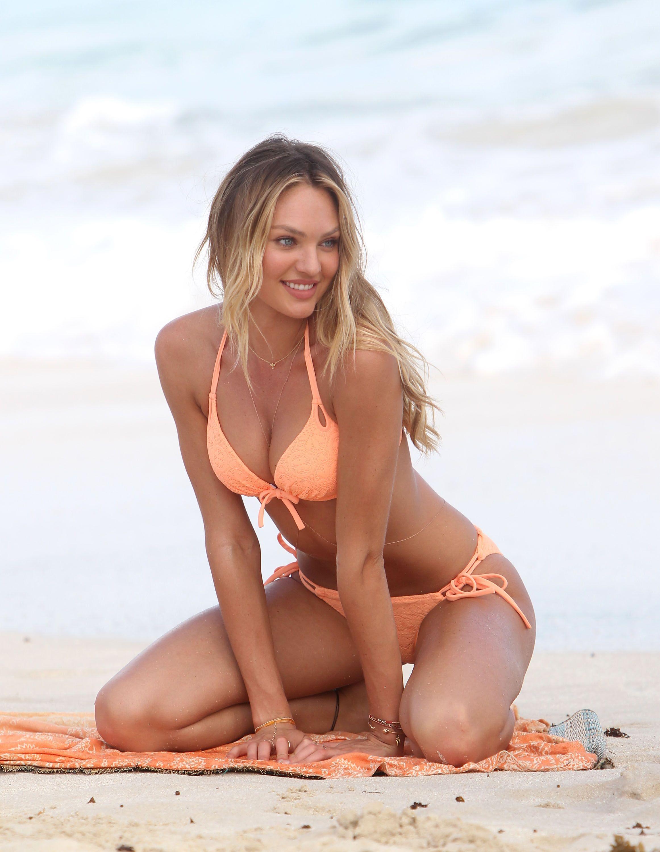 Candice Swanepoel Shows Off Her Bikini Body