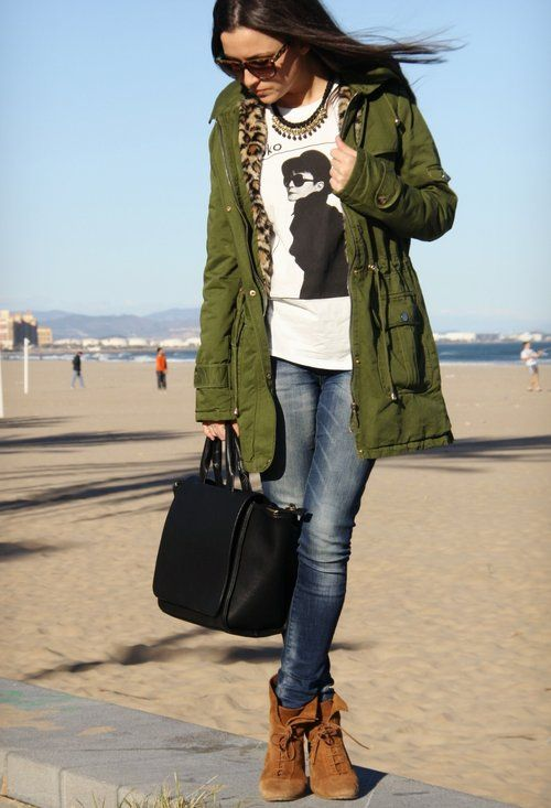 Style Watch: Military Parka jacket | Fab Fashion Fix