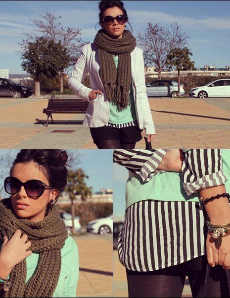 stradivarius-scarves-echarpes-bershka-blazers~look-main