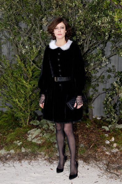Chanel: Photocall - Paris Fashion Week Haute-Couture Spring/Summer 2013
