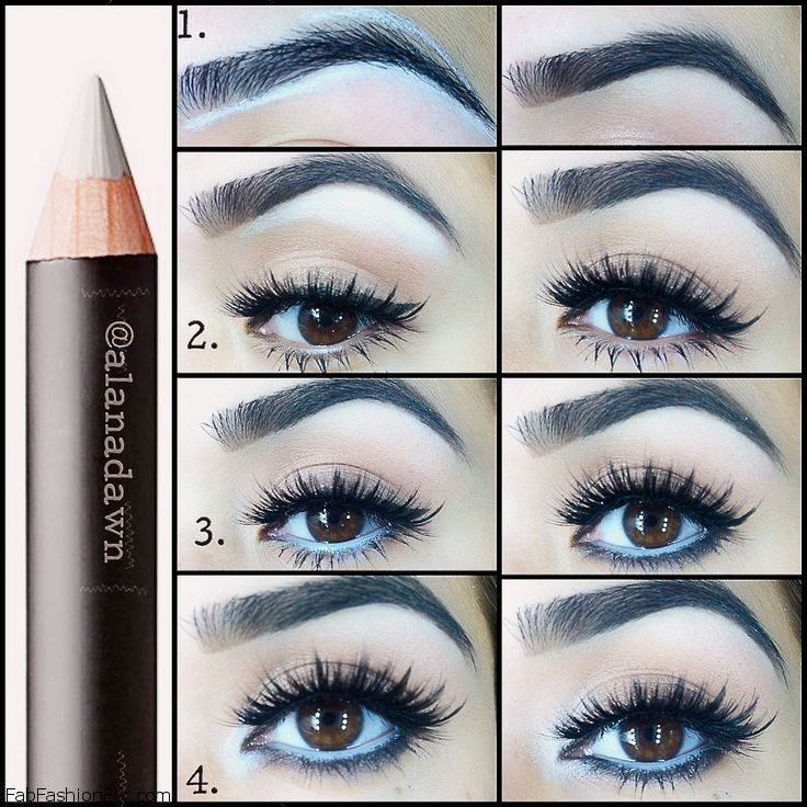 Makeup: How to shape your eyebrows tutorial | Fab Fashion Fix