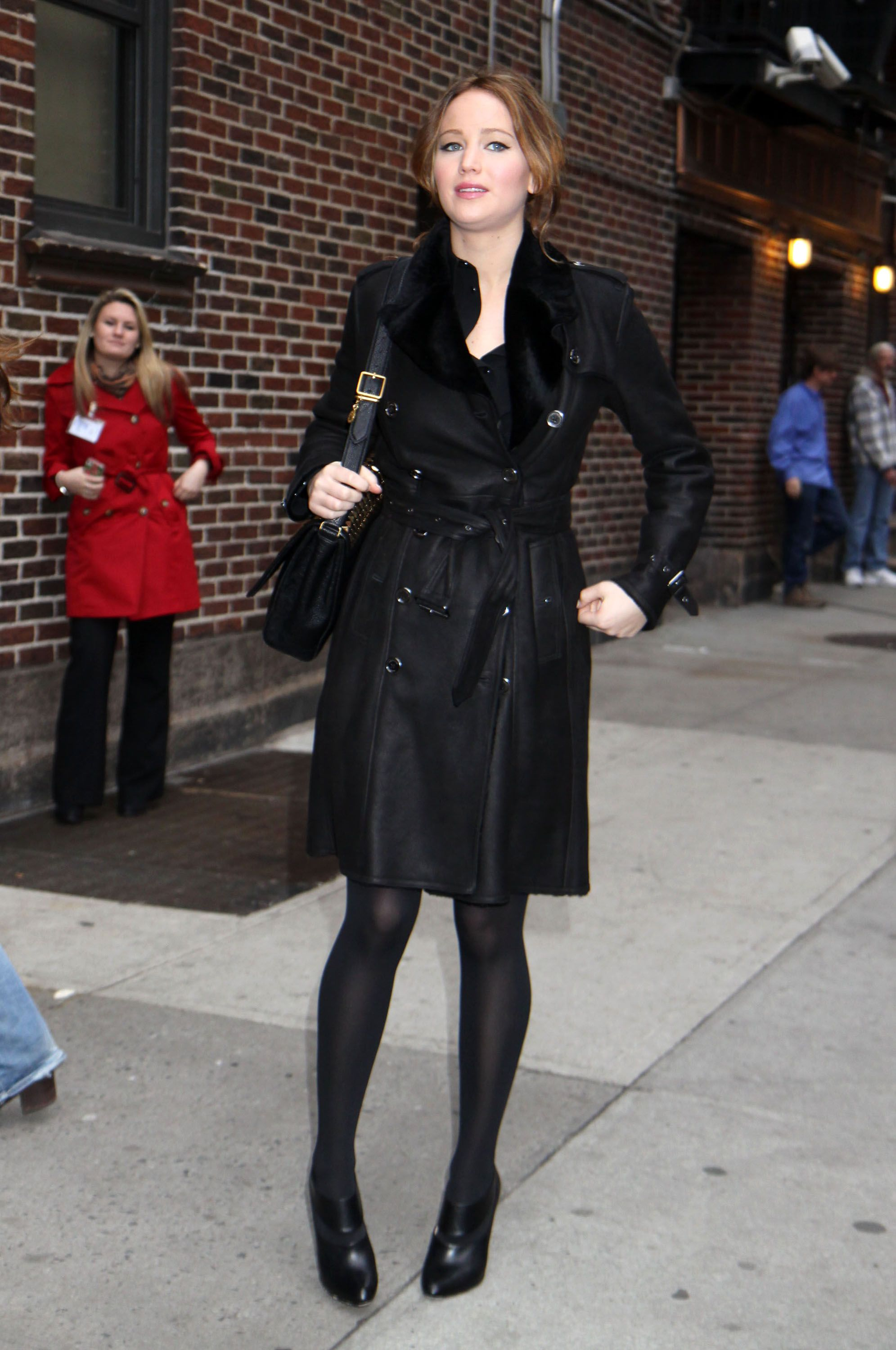 At the Late Show With David Letterman in New York City - January 15, 2013