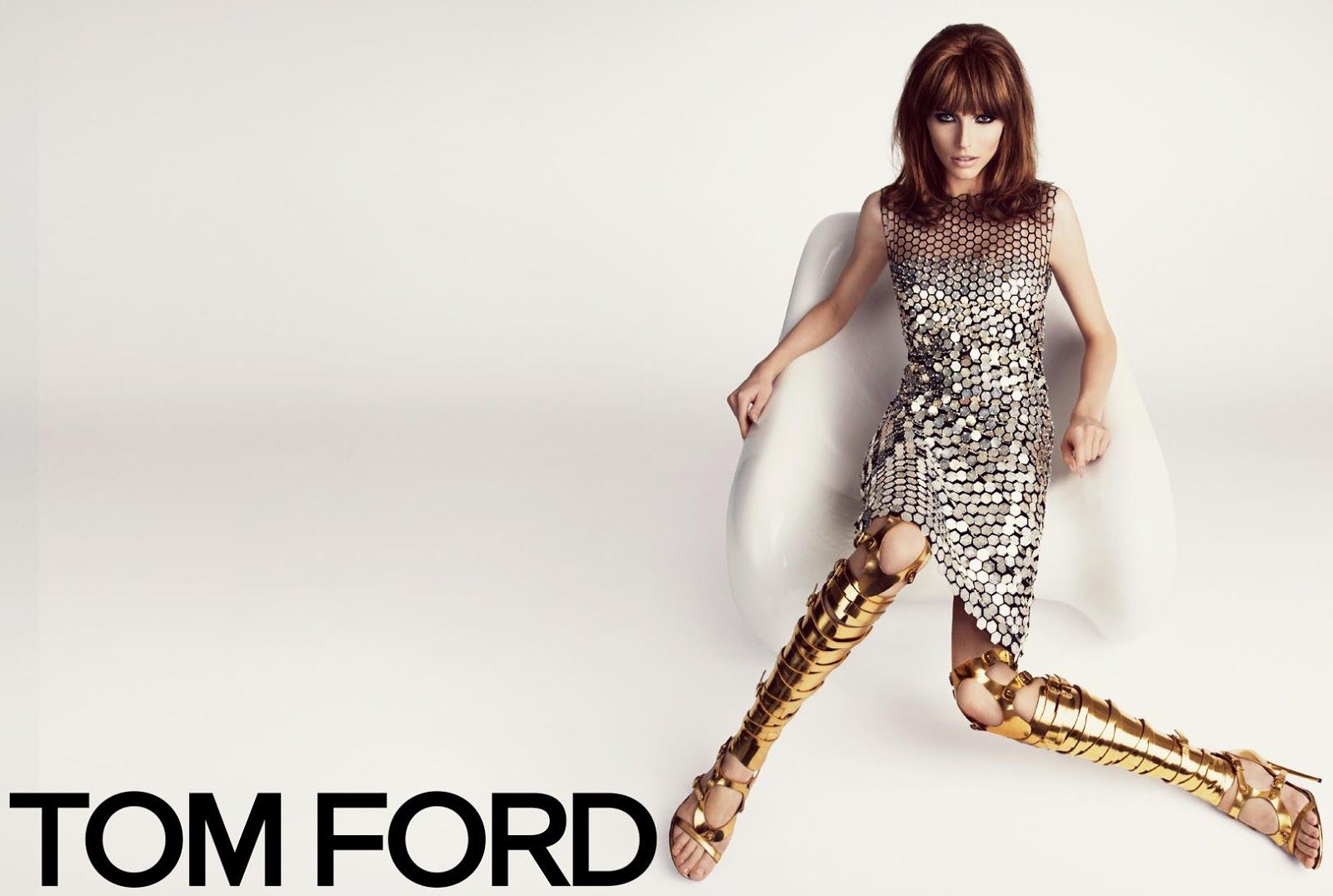 Karlina Caune & Simon Van Meervenne for Tom Ford SS 2013-001