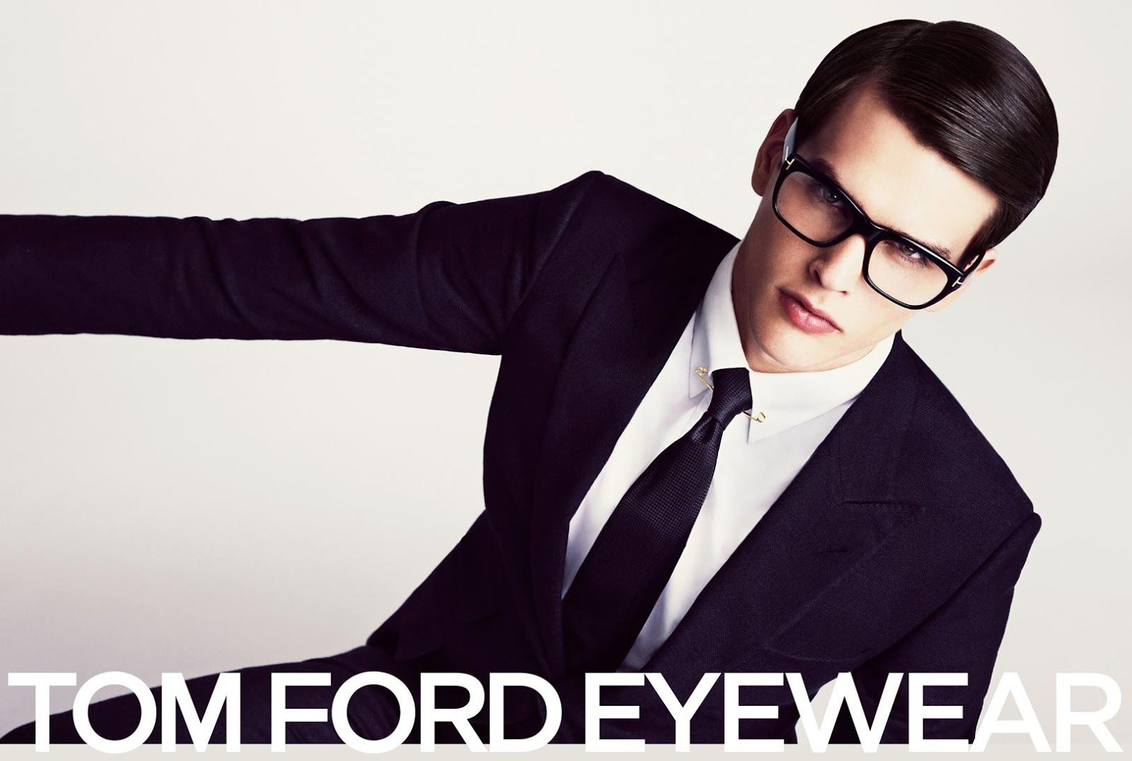 Karlina Caune & Simon Van Meervenne for Tom Ford SS 2013-005