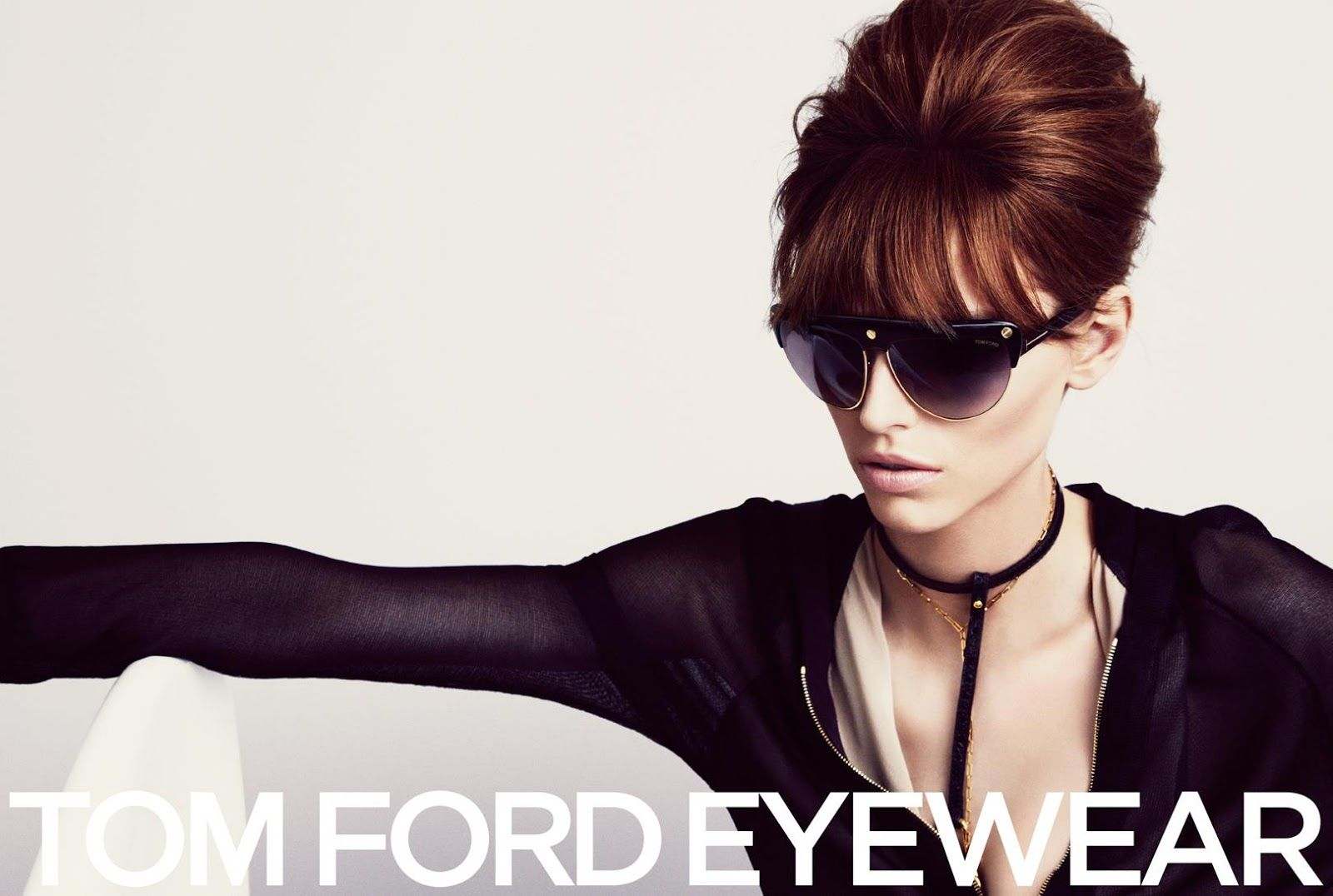 Karlina Caune & Simon Van Meervenne for Tom Ford SS 2013-006