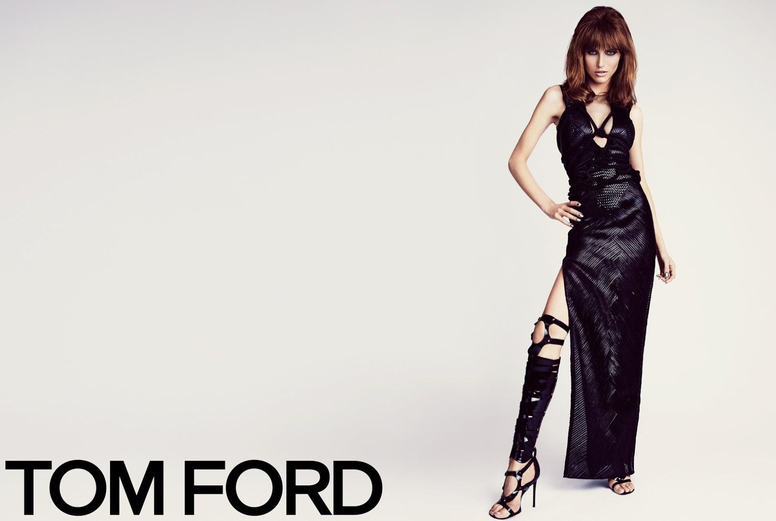 Karlina Caune & Simon Van Meervenne for Tom Ford SS 2013-007