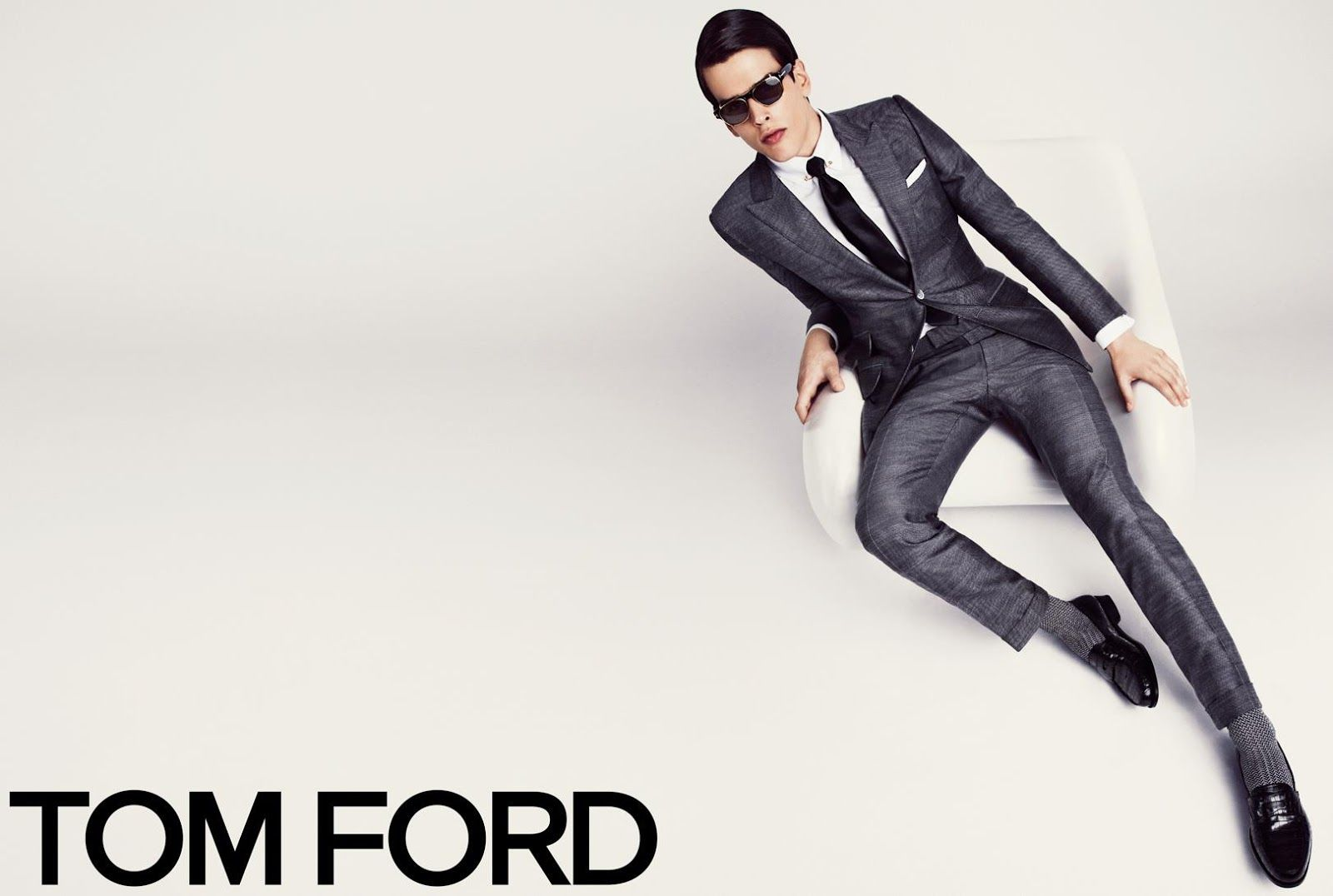 Karlina Caune & Simon Van Meervenne for Tom Ford SS 2013-008