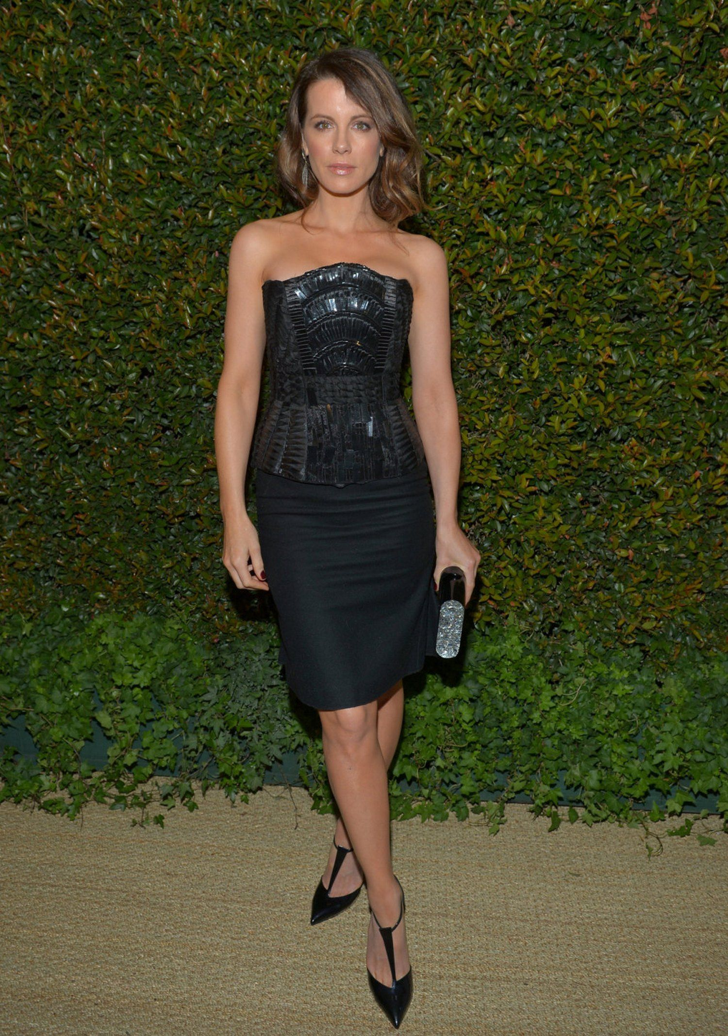 Kate Beckinsale Alberta Ferretti and Vogue Fashion Show  Dinner  058