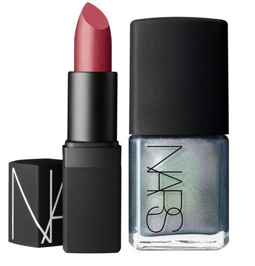 NARS-Spring-2013-Dressed-To-Kill-Lipstick-Disco-Inferno-Nail-Polish