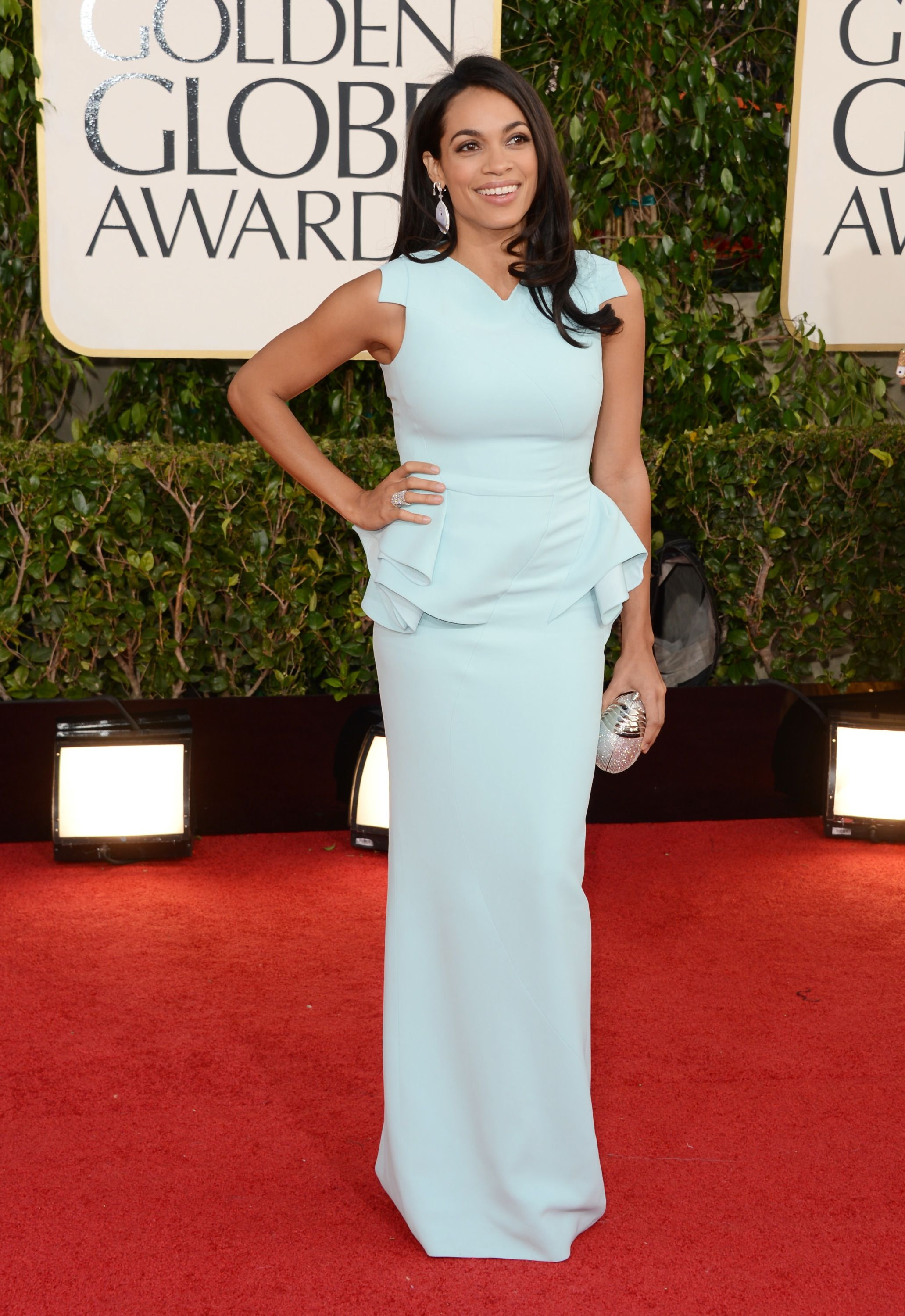 Rosario Dawson at the 70th Annual Golden Globe Awards in Beverly Hills 13.1.2013_08