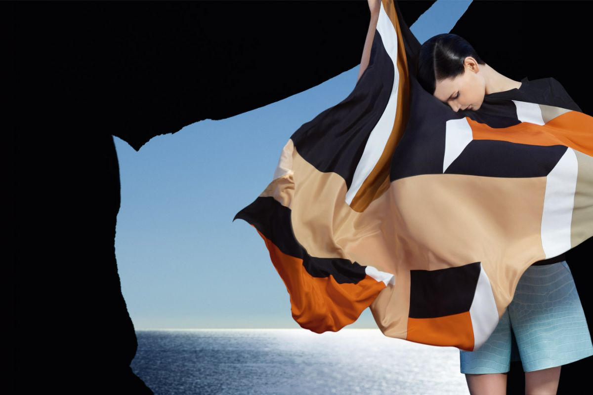 Saskia de Brauw & Kati Nescher by Karl Lagerfeld (Fendi Spring-Summer 2013) 4