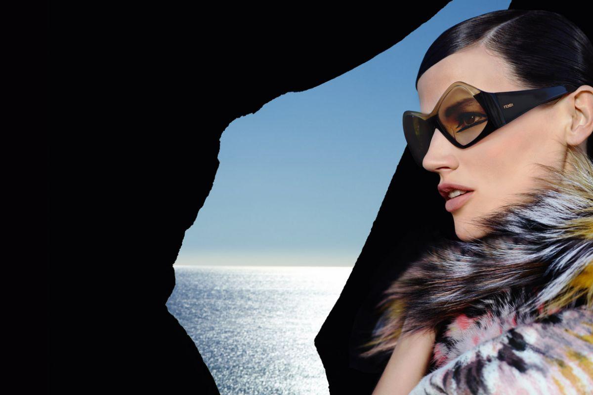 Saskia de Brauw & Kati Nescher by Karl Lagerfeld (Fendi Spring-Summer 2013) 7