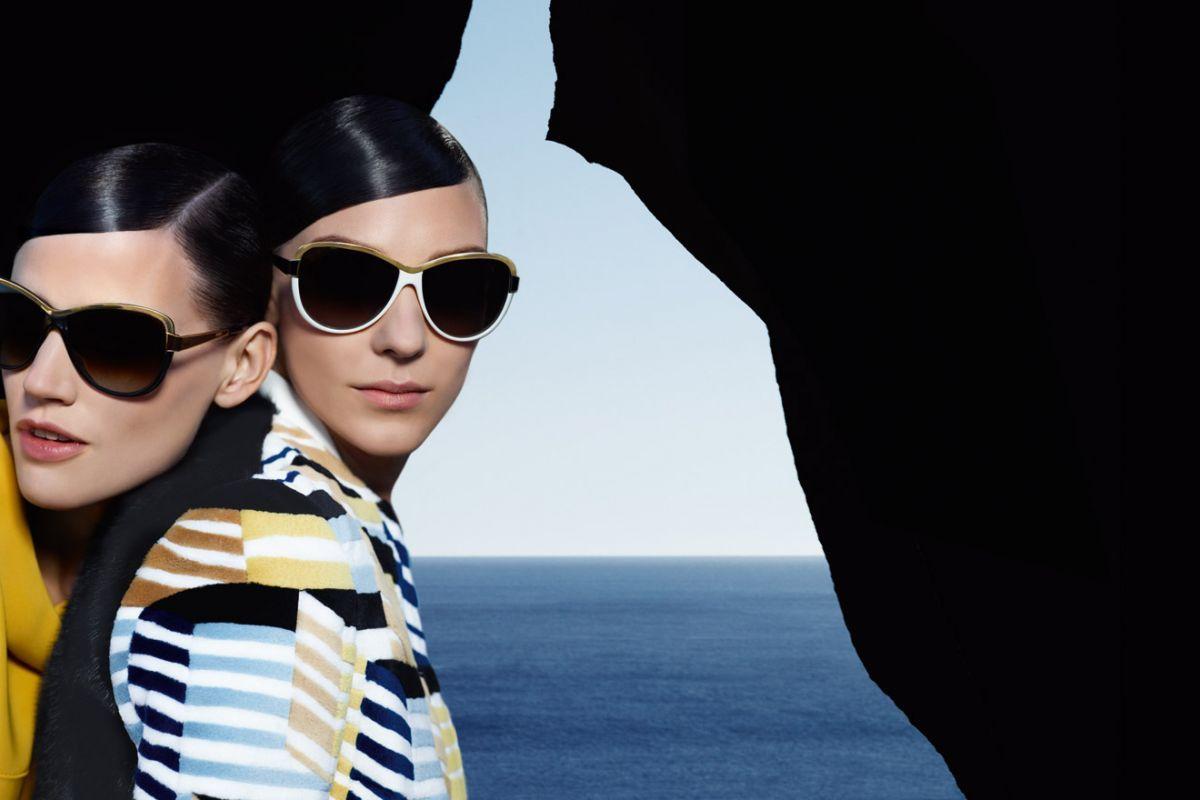 Saskia de Brauw & Kati Nescher by Karl Lagerfeld (Fendi Spring-Summer 2013) 8