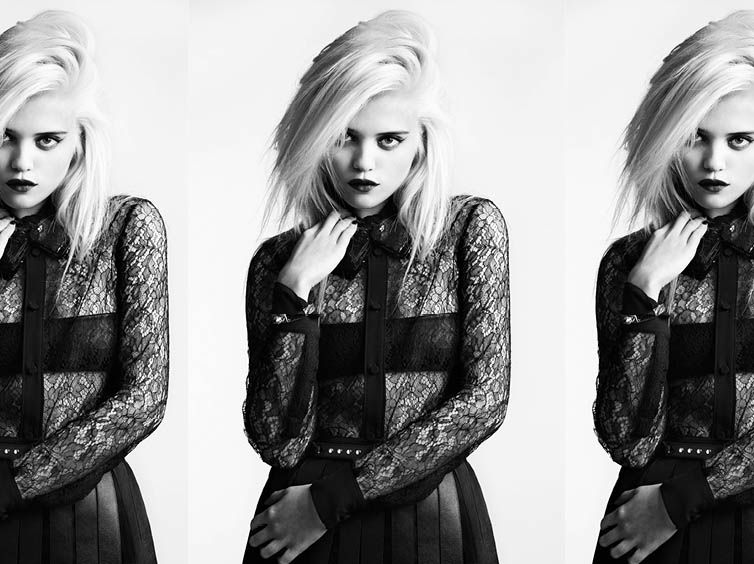 Sky Ferreira for Saint Laurent Pre-Fall 2013-007