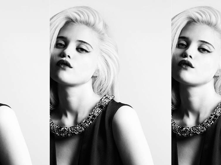 Sky Ferreira for Saint Laurent Pre-Fall 2013-015