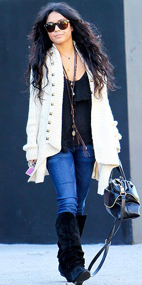 Vanessa Hudgens Winter Style 2013 Images Galleries With A Bite