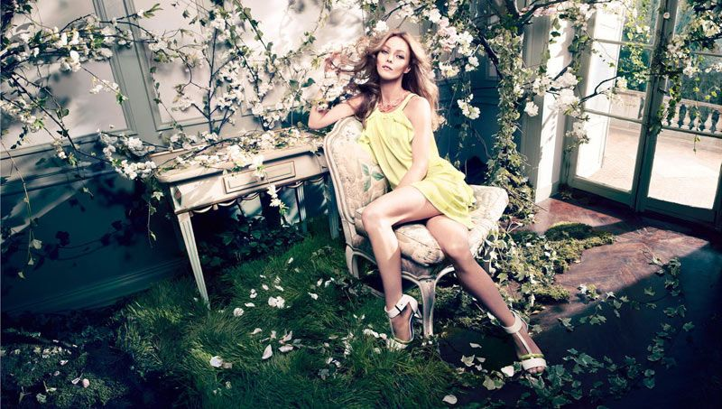 Vanessa Paradis by Camilla Akrans for HM Spring 2013