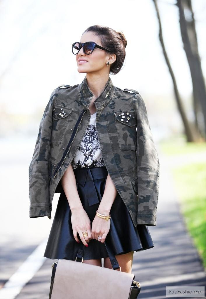 Style Guide How To Wear Army Jacket Fab Fashion Fix