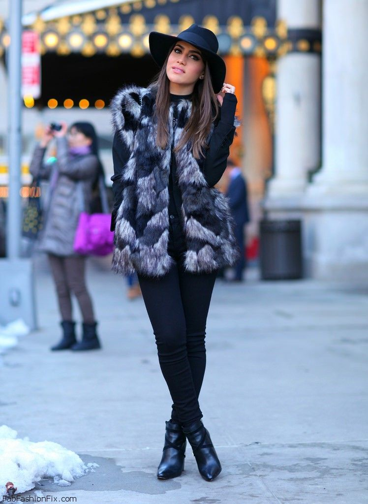 Style Guide How To Wear Faux Fur Vest Fab Fashion Fix