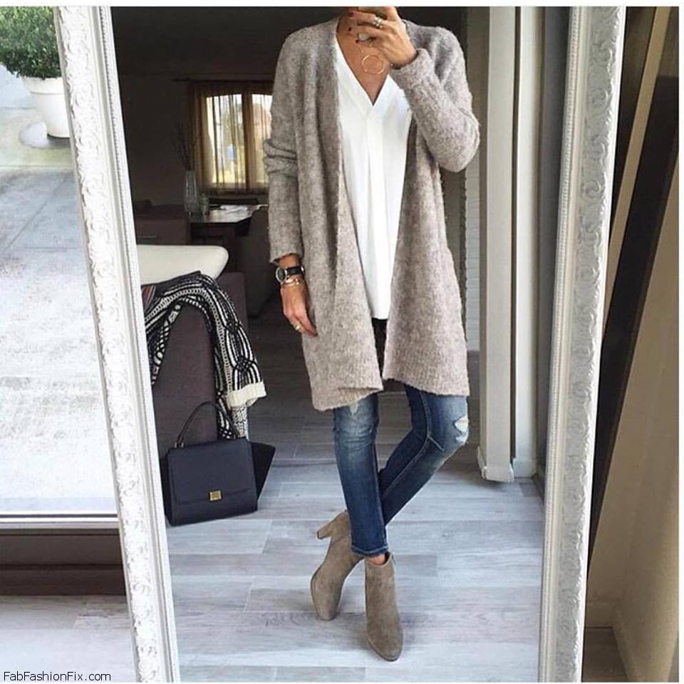 Style Guide: How to wear cardigan sweater? | Fab Fashion Fix