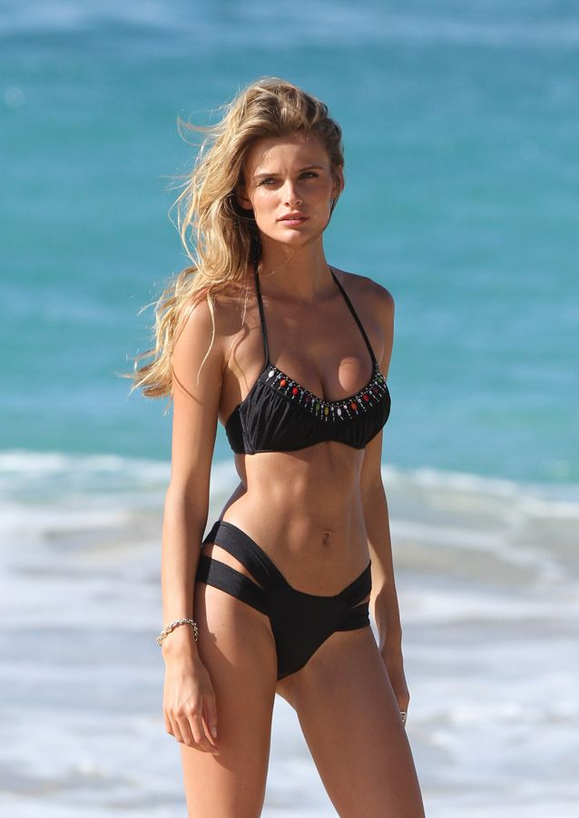 Edita Vilkeviciute on a Victoria's Secret Photo Shoot