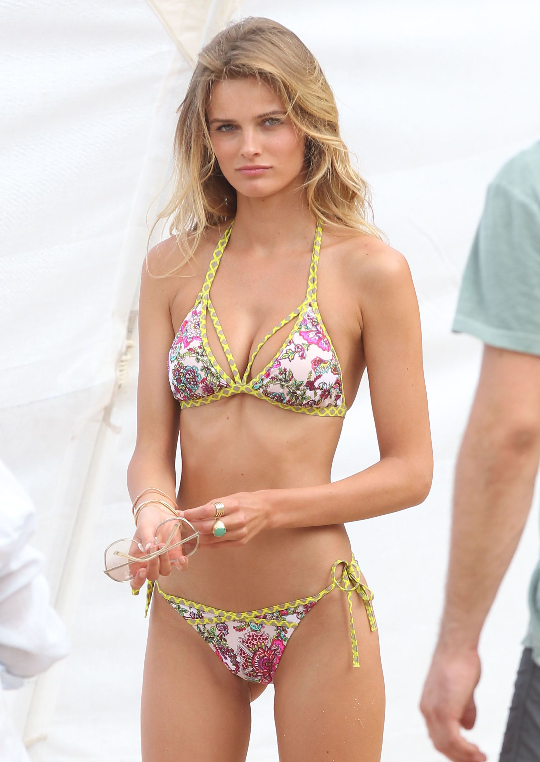 Edita Vilkeviciute Doing A Victoria's Secret Photo Shoot