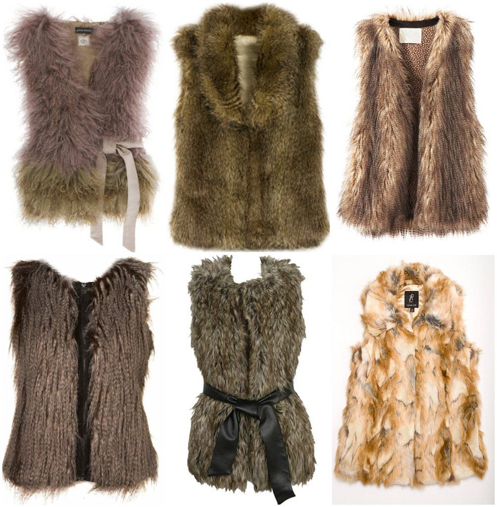 fur vests