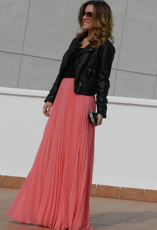 style guide how to wear maxi skirt in winter fab