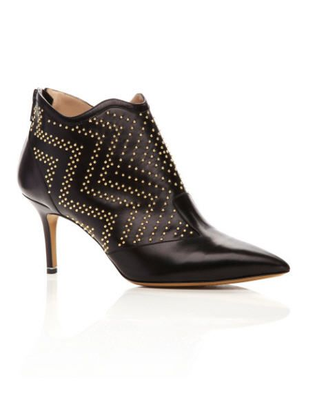 nicholas-kirkwood-pre-fall-2013-gold-stud-chrome-booties