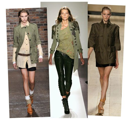 Style Watch Military Style Trend Fab Fashion Fix