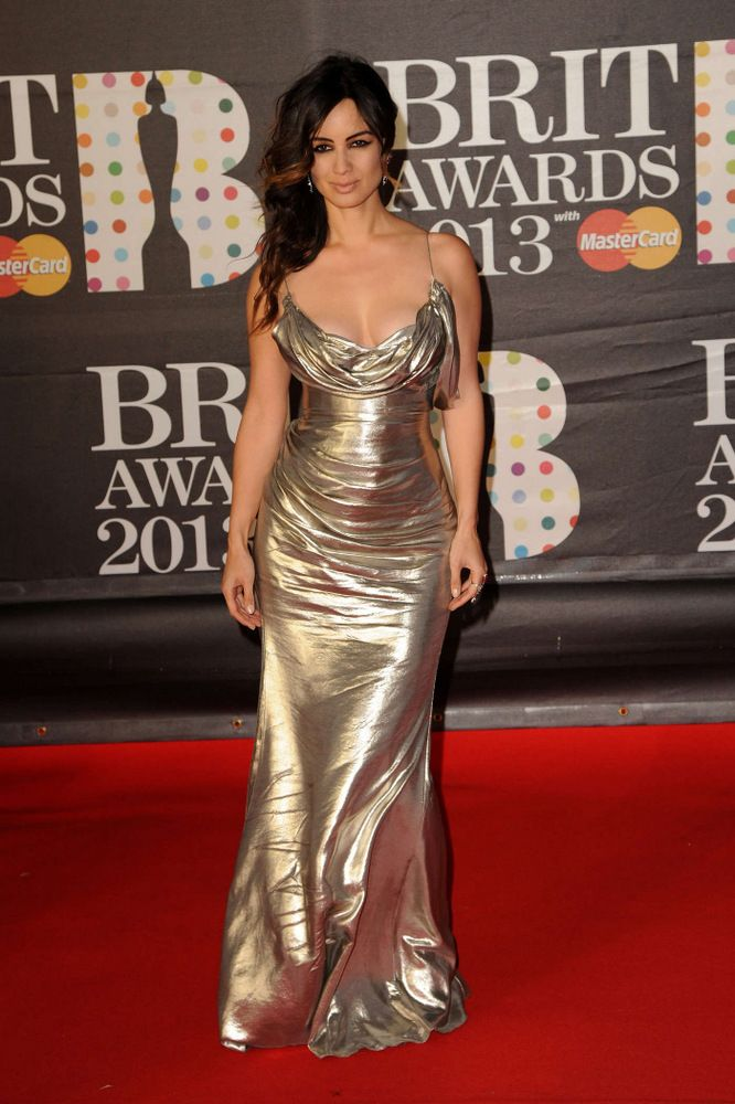 2Berenice Marlohe Brit Awards in London 2013-003