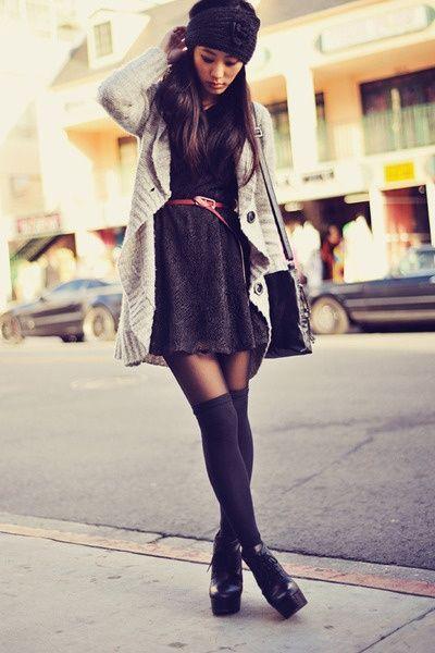 Watch - Wear to what under sweater dress video